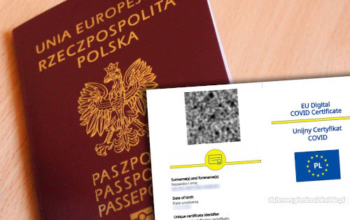 Paszport Covidowy, Unijny Certyfikat Covid, Negatywny test Covid 19
