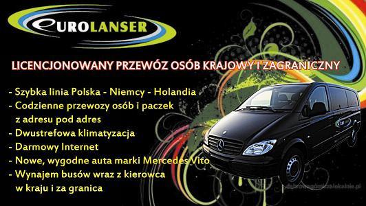 Licencjonowany przewóz | Dąbrowa Górnicza | Amsterdam | Haga | Śląsk